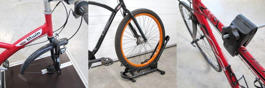 Transport vélo : arrimage et attache