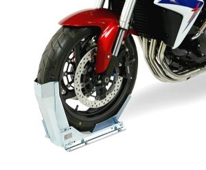 bloque roue moto support pour immobiliser moto akxion shop. Black Bedroom Furniture Sets. Home Design Ideas