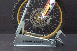 Bloque roue moto CROSS. Wheel stand motorbike. Marque ACEBIKES