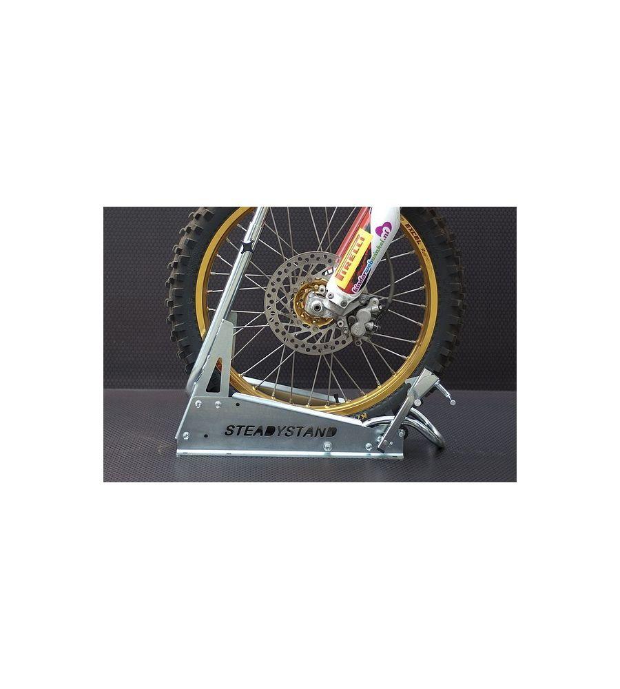 bloque roue moto transporter les motos tout terrain cross enduro trial akxion shop. Black Bedroom Furniture Sets. Home Design Ideas