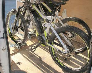 Bloque roue Cross pour VTT