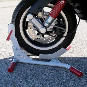 steadystand blanc scooter