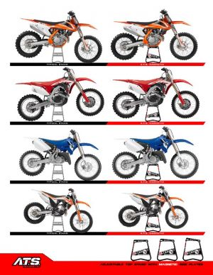 ATS stand réglages moto de cross