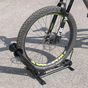 Bloque roue vélo pour grands pneus