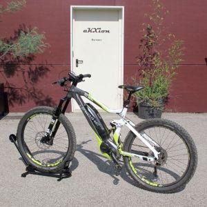 support vélo roue avant