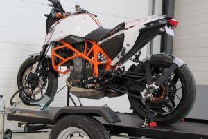 Offre bloque roue moto FIX + sangle de roue TyreFix marque ACEBIKES