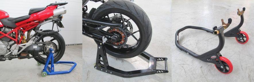 Immobiliser moto : béquilles de stand moto