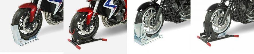 Transport moto et voiture : bloque roue
