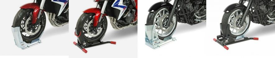Transport, arrimage, immobilisation moto : bloque roue
